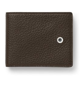 Graf-von-Faber-Castell - Wallet Cashmere large, dark brown