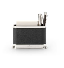 Graf-von-Faber-Castell - Pen holder oval Epsom, black