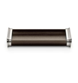 Graf-von-Faber-Castell - Pen tray Epsom, dark brown