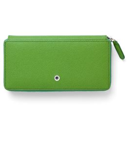 Graf-von-Faber-Castell - Ladies purse Epsom with zipper, Viper Green