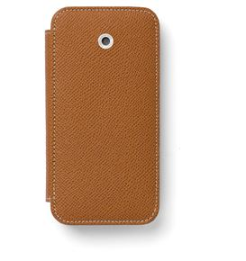 Graf-von-Faber-Castell - Smartphone cover for iPhone 8 Epsom, cognac