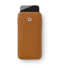 Graf-von-Faber-Castell - Smartphone cover for iPhone 6 Epsom, cognac
