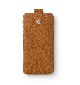 Graf-von-Faber-Castell - Smartphone cover for iPhone 6 plus Epsom, cognac