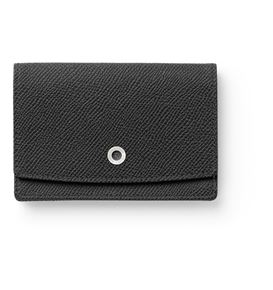 Graf-von-Faber-Castell - Business card case Epsom, black