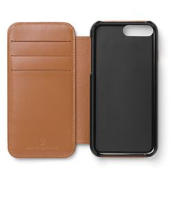 Graf-von-Faber-Castell - Smartphone cover for iPhone 8 plus Epsom, cognac