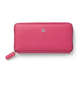 Graf-von-Faber-Castell - Ladies purse Epsom with zipper, Electric Pink