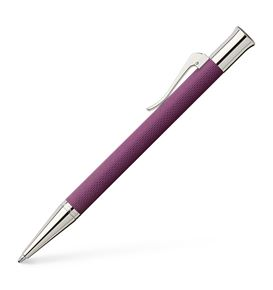Graf-von-Faber-Castell - Propelling ball pen Guilloche Violet Blue
