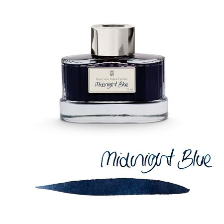 Graf-von-Faber-Castell - Ink bottle Midnight Blue, 75ml