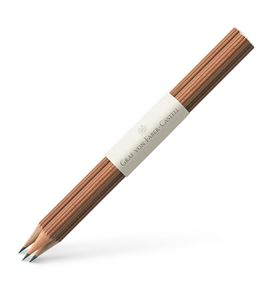 Graf-von-Faber-Castell - 3 graphite pencils, Brown