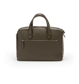 Graf-von-Faber-Castell - Briefcase with one compartment Cashmere, dark brown