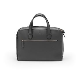 Graf-von-Faber-Castell - Briefcase with one compartment Cashmere, black