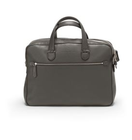 Graf-von-Faber-Castell - Briefcase with two compartments Cashmere, stone grey