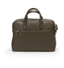 Graf-von-Faber-Castell - Briefcase with two compartments Cashmere, dark brown