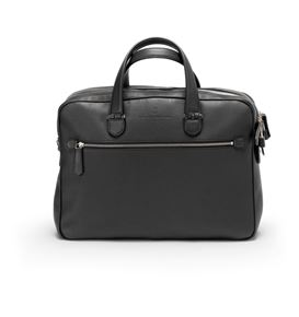 Graf-von-Faber-Castell - Briefcase with two compartments Cashmere, black