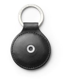 Graf-von-Faber-Castell - Key fob round, black smooth