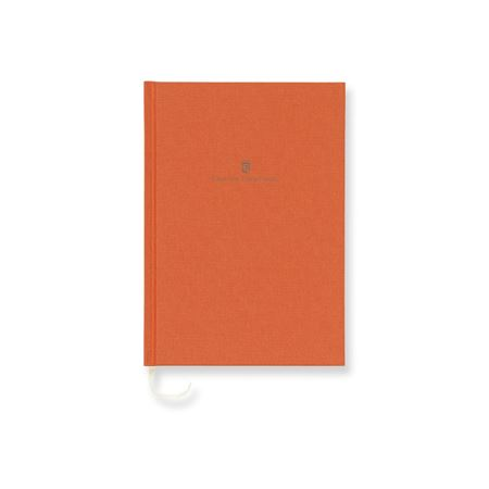 Graf-von-Faber-Castell - Linen-bound book A5 Burned Orange