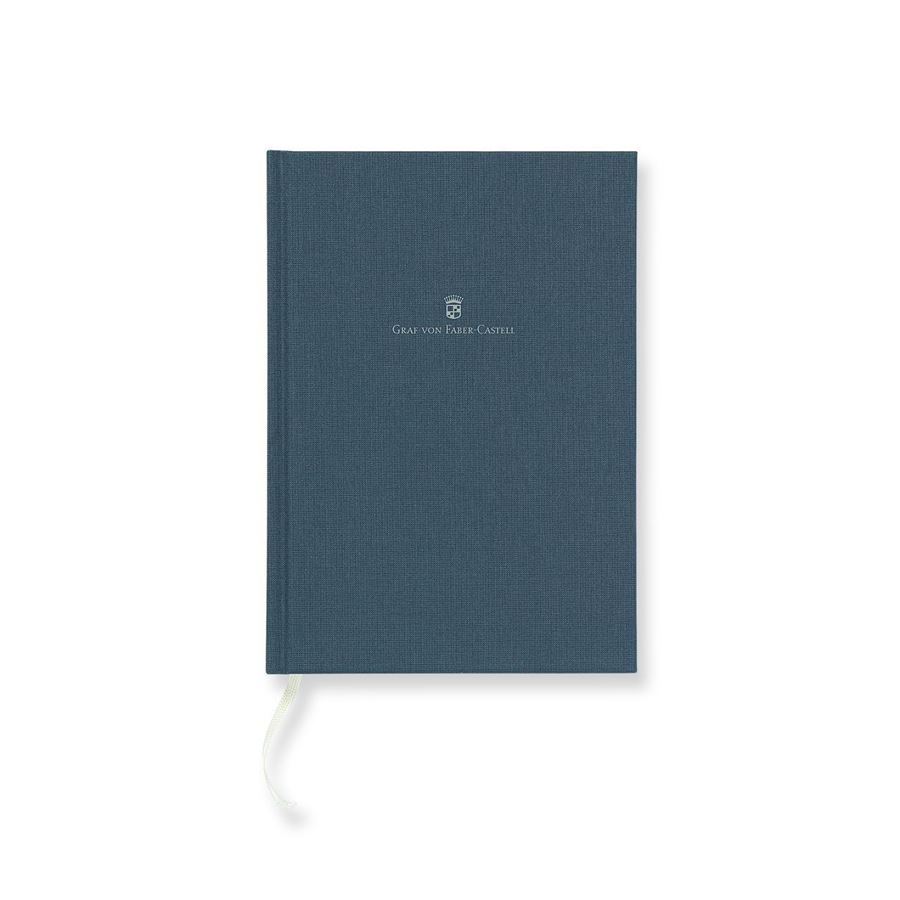 Graf-von-Faber-Castell - Linen-bound book A5 Night Blue