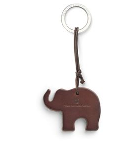 Graf-von-Faber-Castell - Key fob Elephant, dark brown