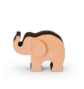 Graf-von-Faber-Castell - Pen holder Elephant Medium, natural