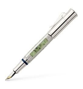 Graf-von-Faber-Castell - Fountain pen, Pen of the Year 2015 platinum-plated, Fine
